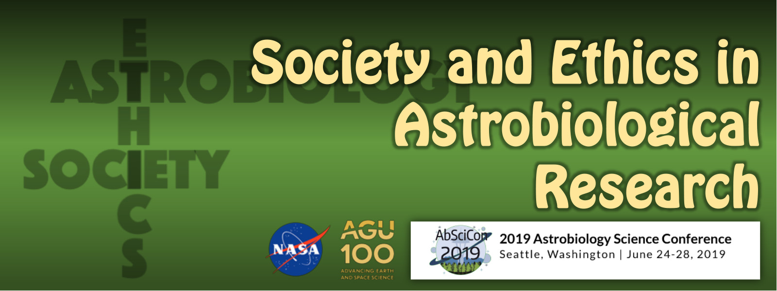 Society and Ethics in Astrobiological Research (Συνέδριο AbSciCon2019)