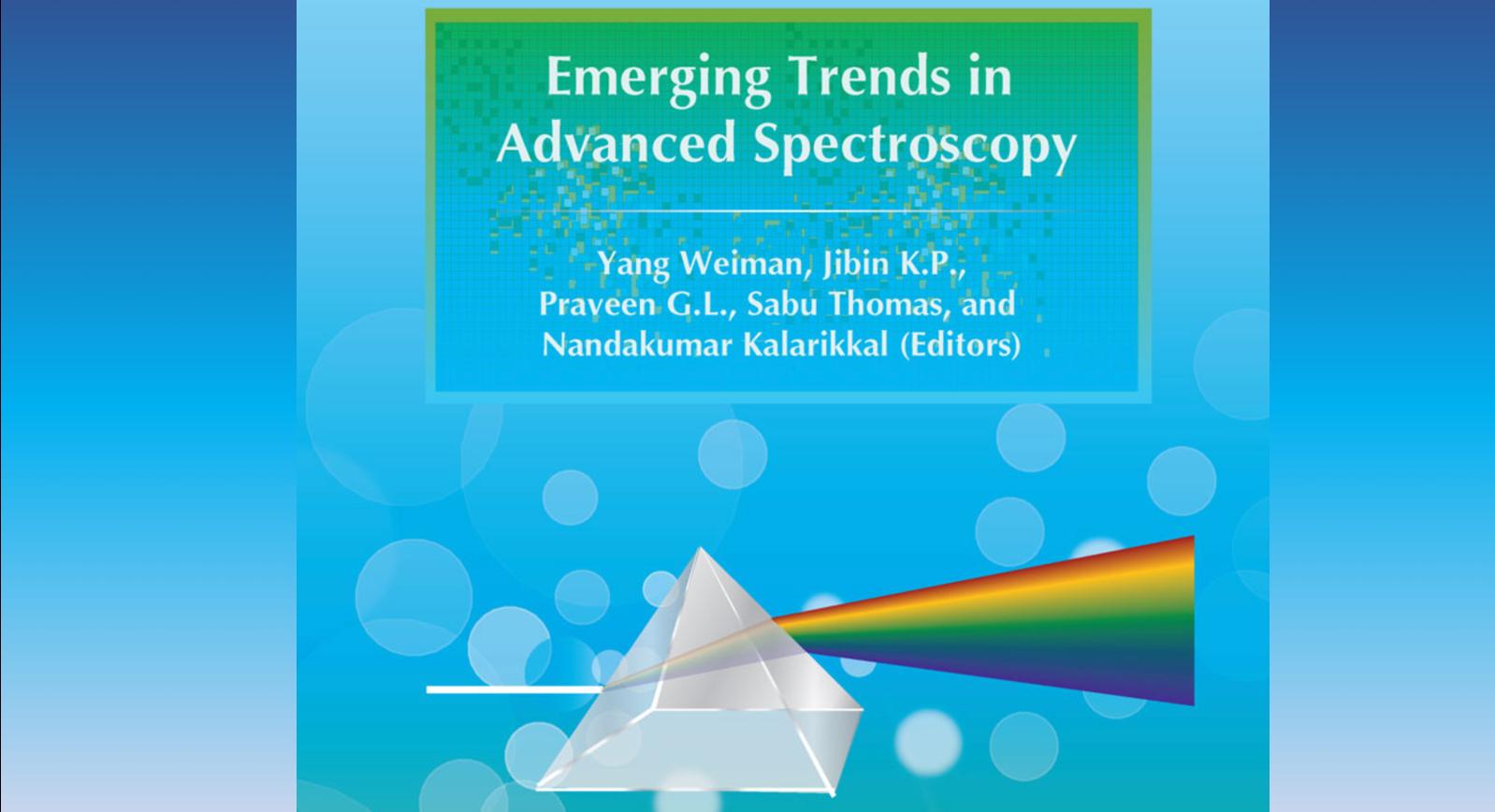 Νέο βιβλίο για Αστροχημεία: Emerging Trends in Advanced Spectroscopy