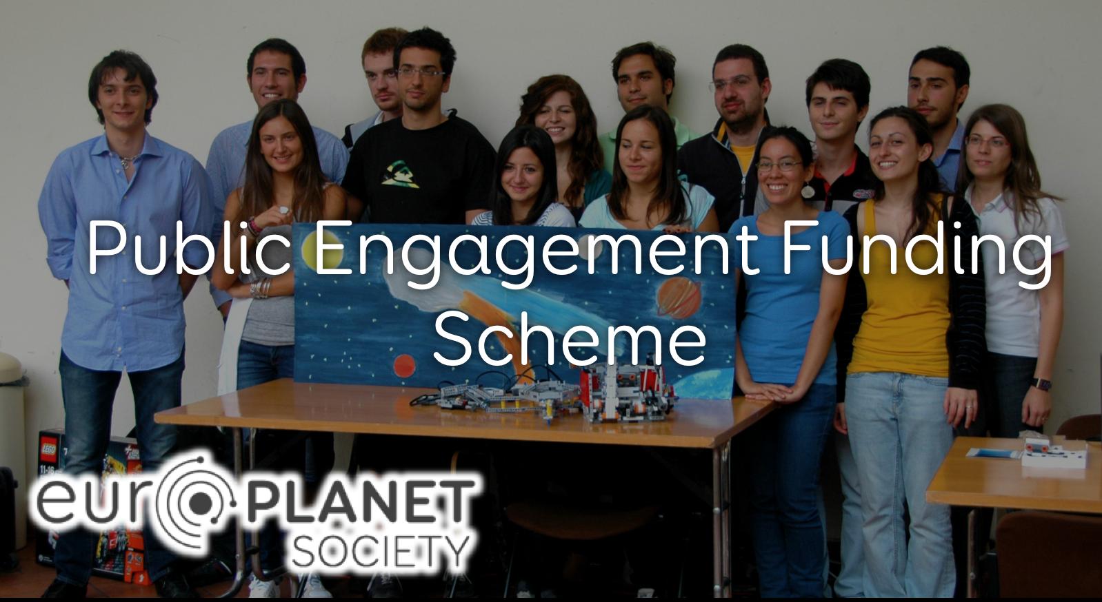 Δράσεις Χρηματοδότησης από το Europlanet για ενασχόληση του κοινού με τις Πλανητικές Επιστήμες